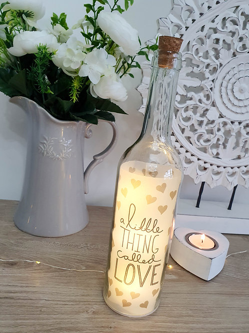 A Little Thing LED Decorative Bottle