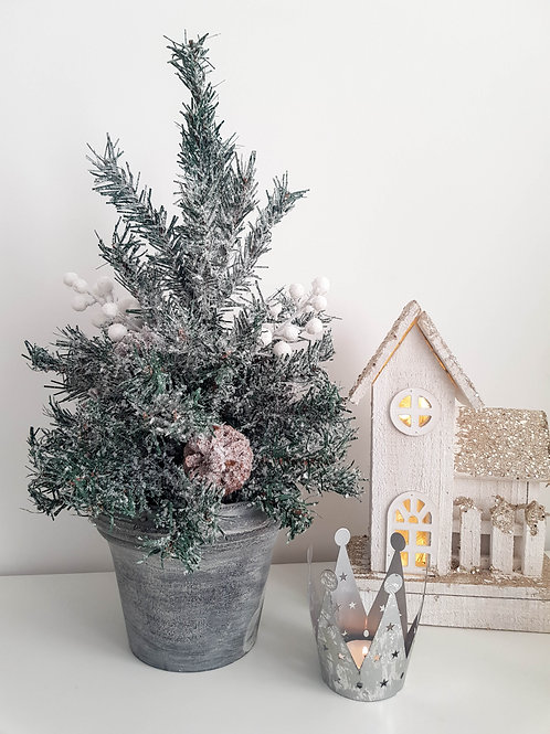 Frosty Artificial Christmas Tree