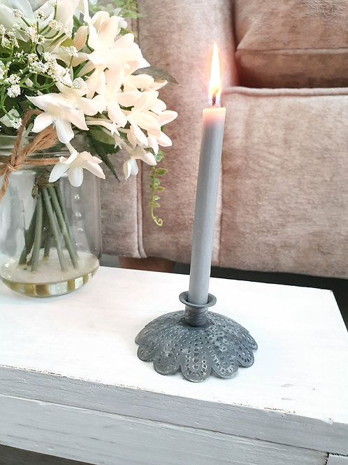 Floral Tapered Candle Holder