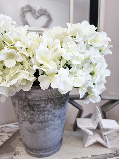 Soft White Hydrangea Bunch