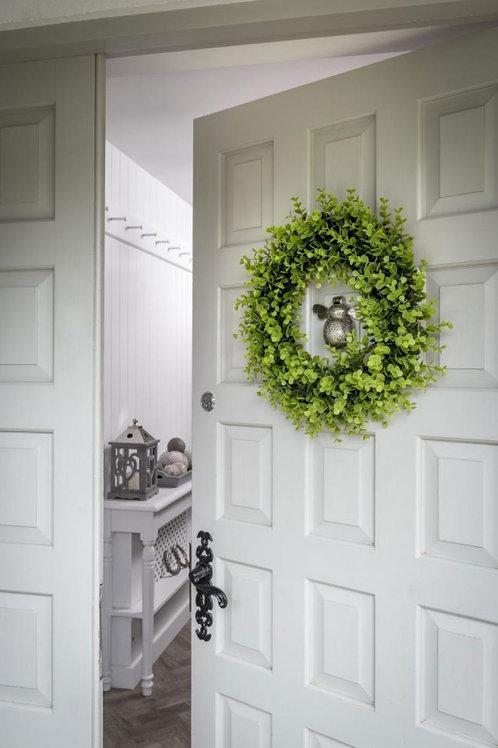 Faux Evergreen Foliage Wreath