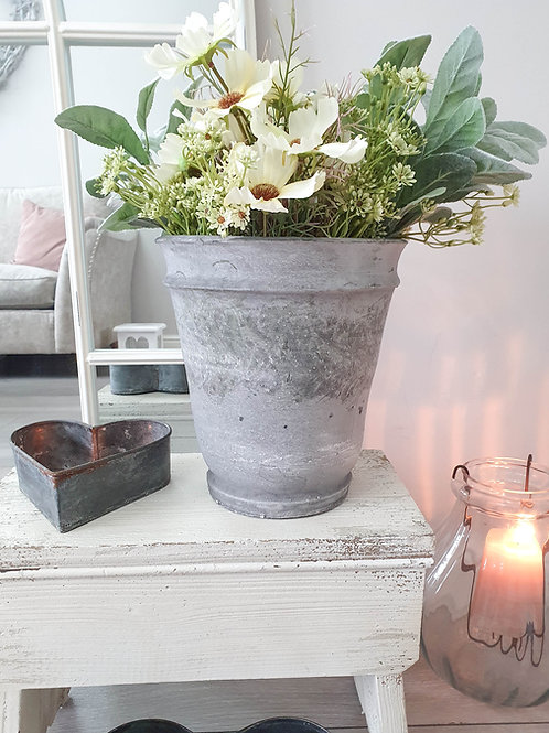 Rustic Old French Clay Planter Pot
