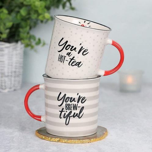 Tea Loving Couples Mug Set