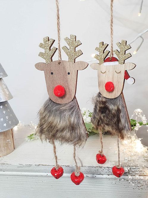 Red Nosed Reindeer Hangers