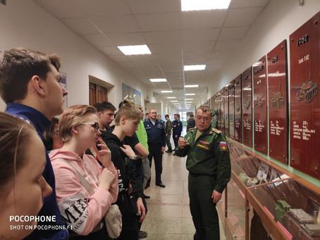 Экскурсия в военный учебный центр УрФУ