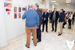 recorrido inaugural de la exposición