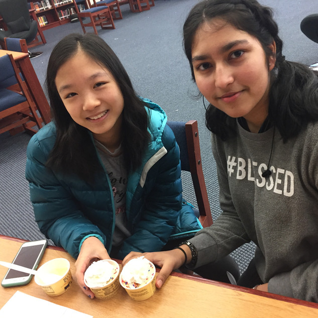 8th Grade Ice Cream Celebration