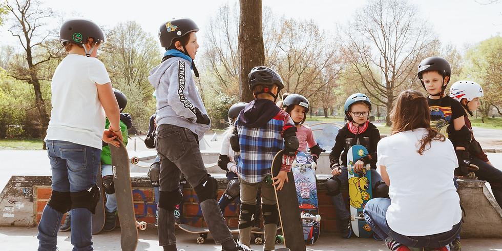 Osterferien Kinder Skateboard Kurs V