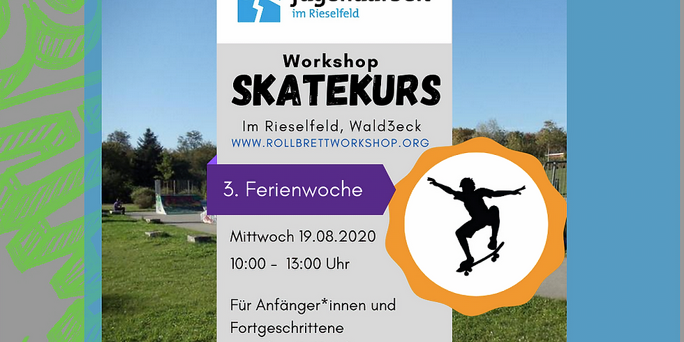 Skate Kurs mit KjK K.I.O.S.K. e.V.