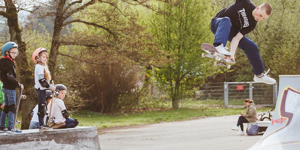 Osterferien Skateboard Kurs IV