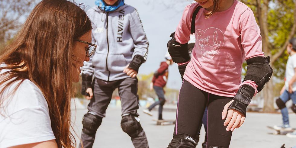 Pfingstferien Kinder Skateboard Kurs II
