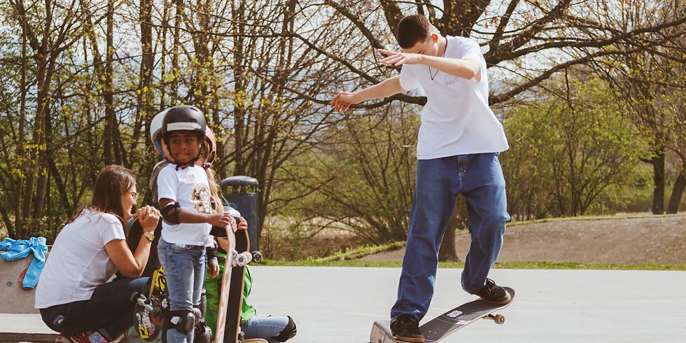 Pfingstferien Kinder Skateboard Kurs III