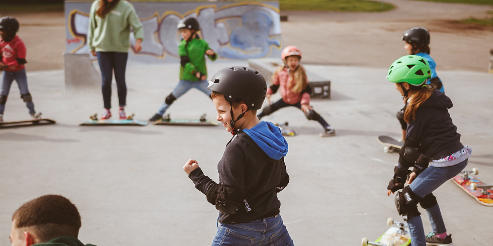 Ostermontag Skateboard Kurs mit Eiersuche