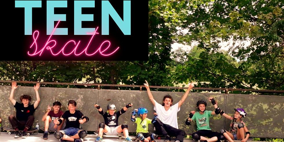 Teen Anfänger Skateboard Kurs mit Gabbo