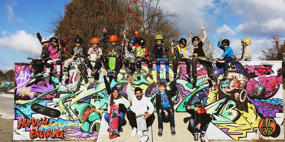 Yea! Skateboard Kurs im neuem Park!!!