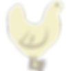 White Chicken Icon