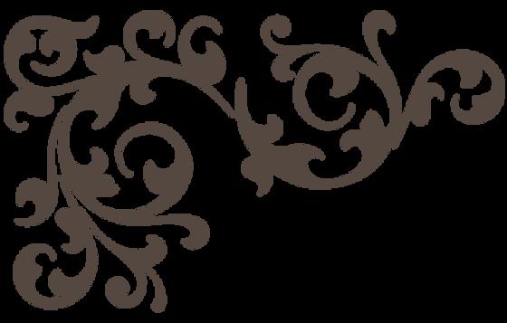 Gray Floral Icon