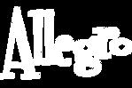 Allegro White Logo