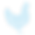Blue Chicken Icon