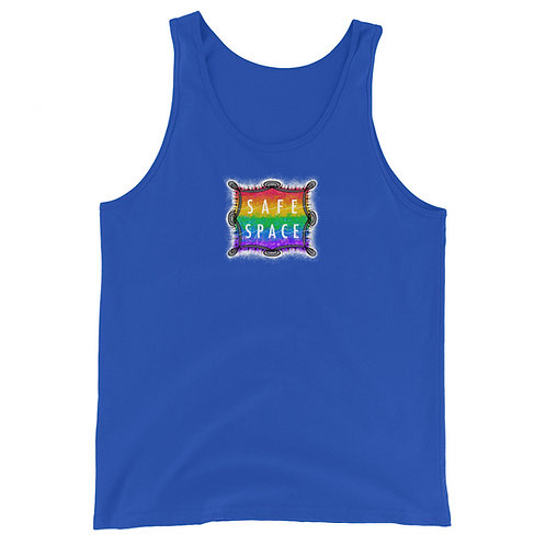 Safe Space Rainbow: Unisex Tank Top