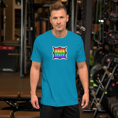 Safe Space Rainbow: Short-Sleeve Unisex T-Shirt