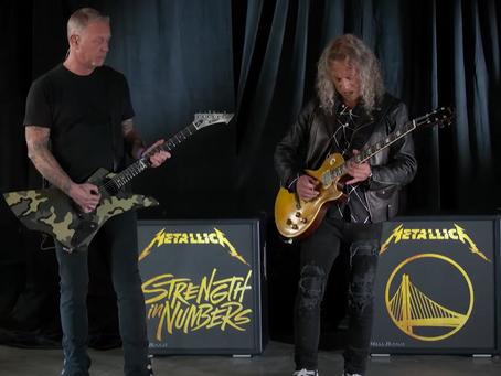 Metallica fremførte nasjonalsangen