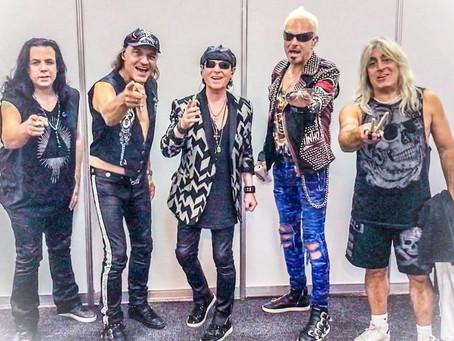 Scorpions deler snutt fra studio