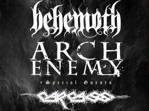 Metall-legender på Europaturné