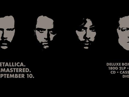 """Metallica feirer """"The Black Album"""""""