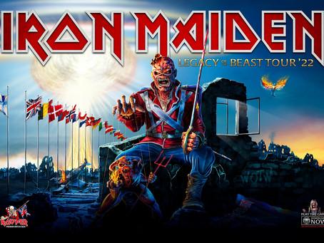 Iron Maiden til Tons of Rock 2022