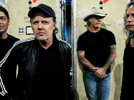 Metallica feiret på Colbert Show
