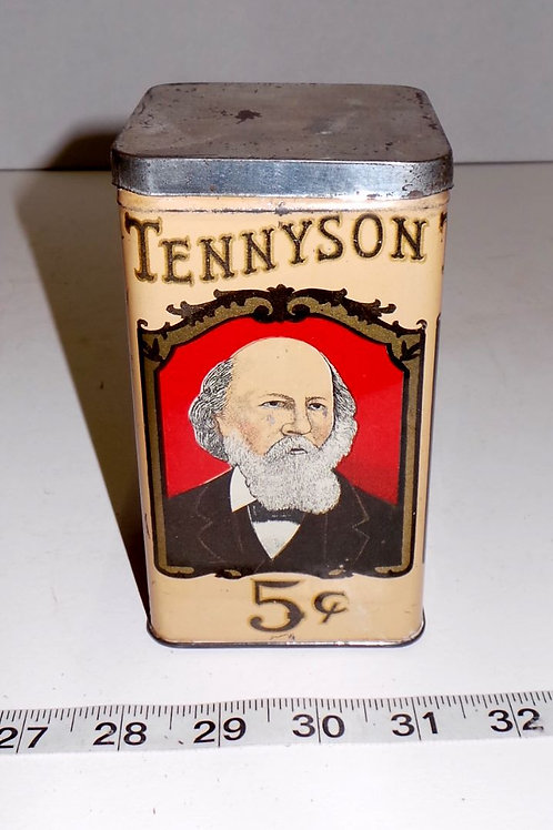 Tennyson 5cts Cigar Tin