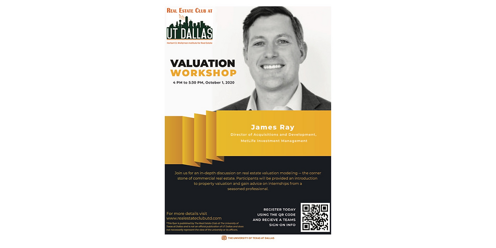 Valuation Workshop with James Ray