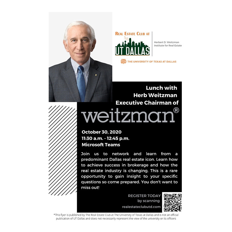 Lunch with Herbert D. Weitzman