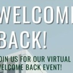 Welcome Back Event - 2021!