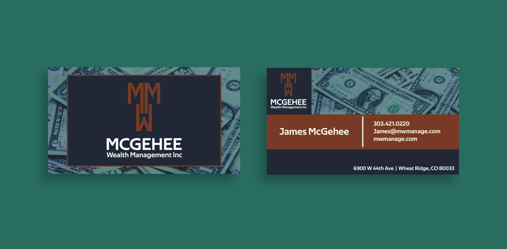 McGehee Business Cards