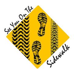See You on the Sidewalk Logo