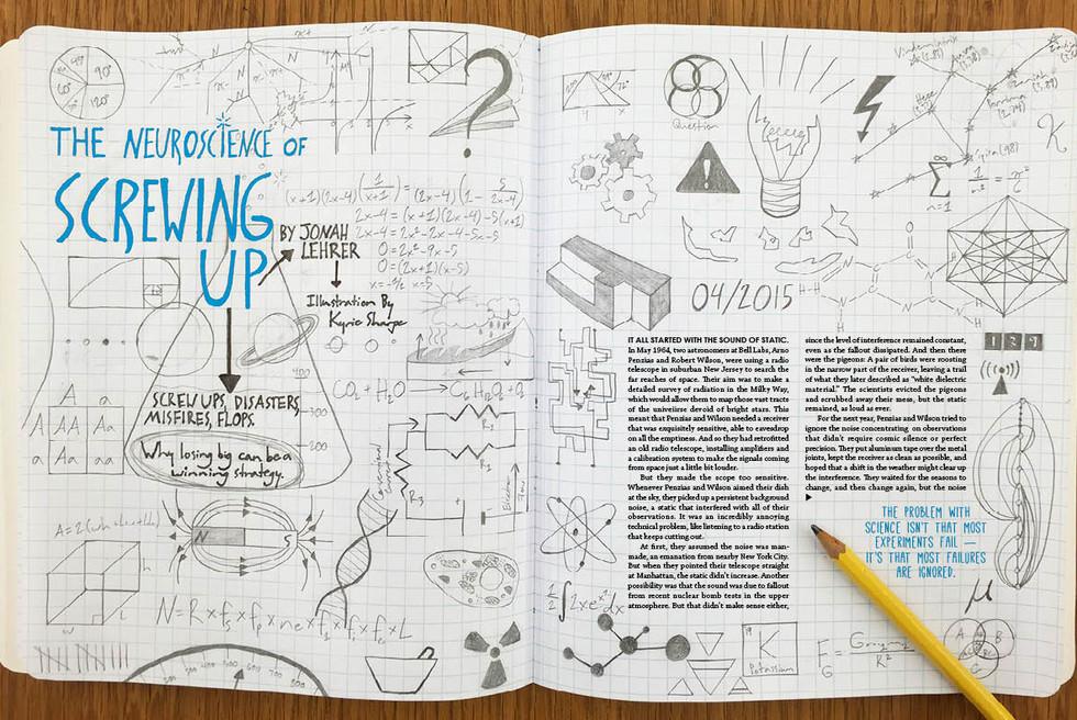 Wired Magazine Layout