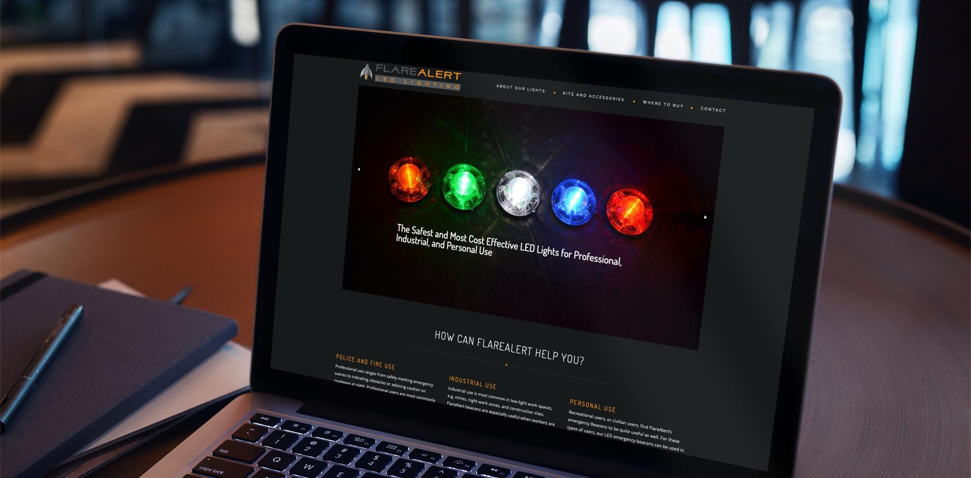 FlareAlert Website