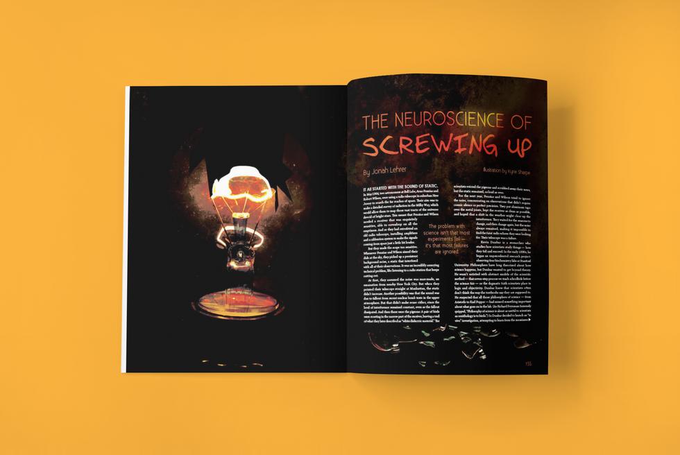 Wired Magazine Layout 2