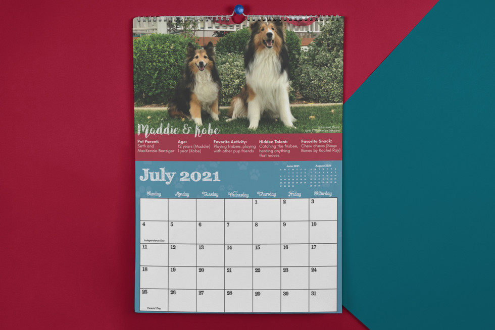 SCHS 2021 Calendar