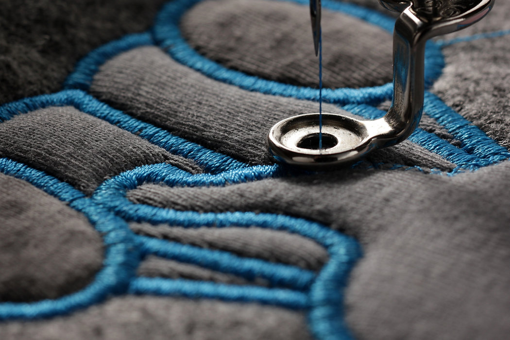 embroidery and application with embroide