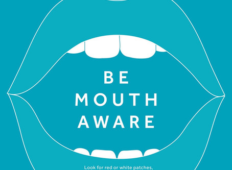 November 2019, Mouth Cancer Action Month