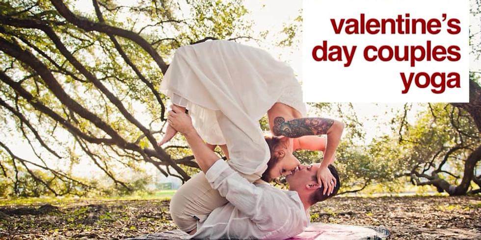 Couples Valentine's Day Yoga