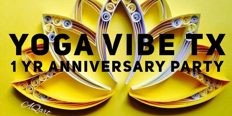Yoga Vibe 1Year Anniversary Party