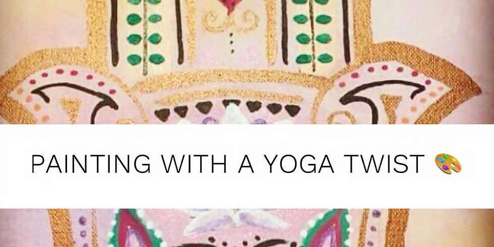 Painting with a Yoga Twist