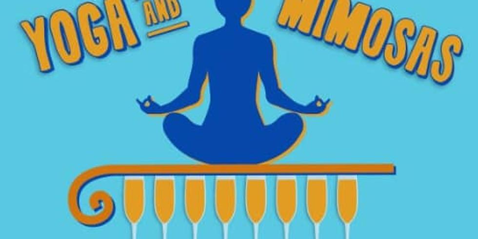 Morning Yoga & Mimosas