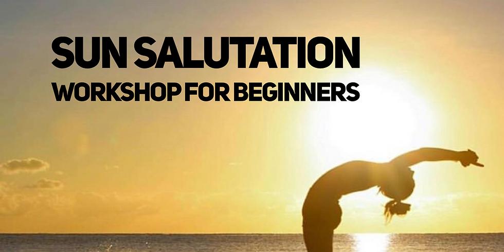 Sun Salutation Beginner's Workshop