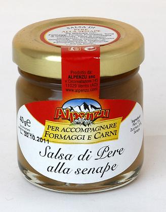 Salsa di pere con senape -Alpenzu