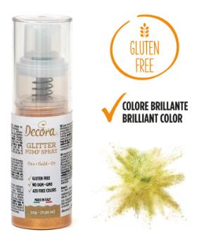 Spray glitterato